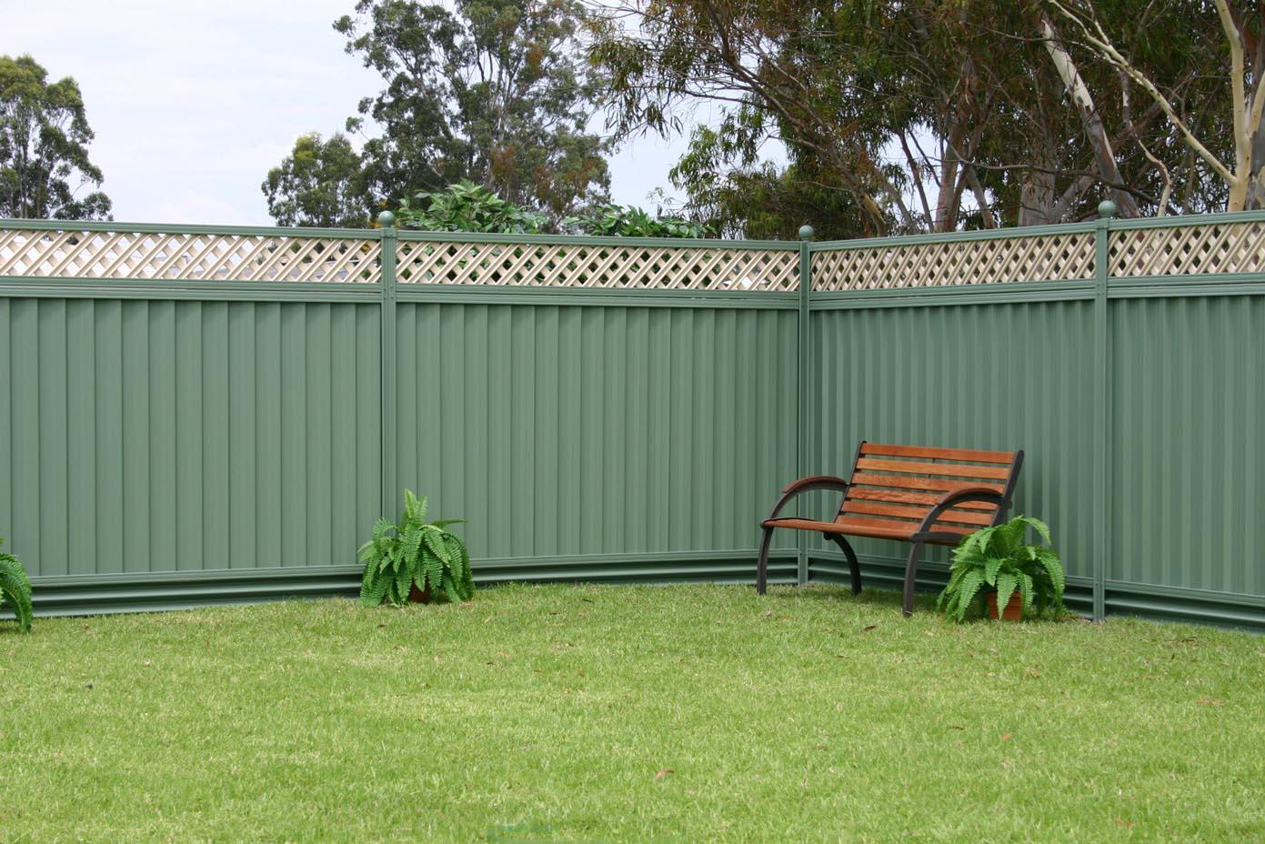Luxury panel eurofence for Luxury fences